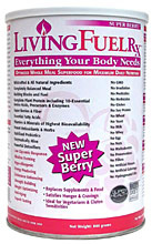 All-natural berries-based drink mix